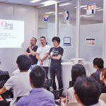 ゲストの方々と弊社代表(写真中央)とのクロストーク